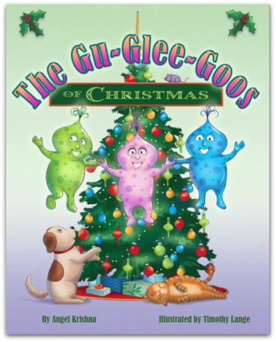 Glu Glee Goos of Christmas Chiledren's Story Book by Angel Krishna
