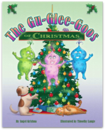 Glu Glee Goos of Christmas Story Book by Angel Krishna