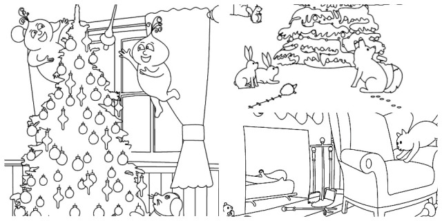 Gu Coloring Page collage